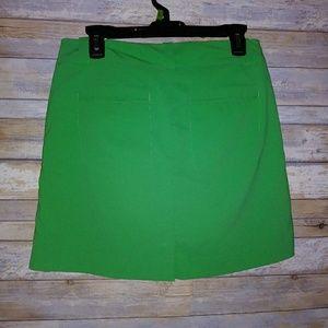 Nike golf skirt-drifit size 4 green